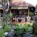 Garten Villa im Taman Sari Resort Bali