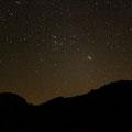 Sternenhimmel über Feynan Eco Lodge, Jordanien