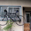 通勤はBADBOY。一番好きな自転車です。