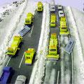 冬季道路模型(2) S:1/250〜500