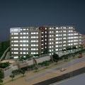 集合住宅模型(電飾)