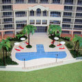 リゾートマンション模型
