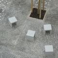 Kleinsteinpflaster und Pflasterbänder