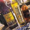 Huile d'olive poivrée, citronnée, et vinaigne balsamique blanc