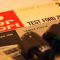 Test auto motor sport Lanvia Fulvia