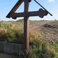 "Das Paals-Kreuz (dahinter das Baugebiet ""Spatelweg"")"