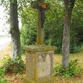 """Das Kreuz unter der """"Hockweiler Linde"""""""