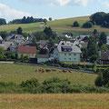 Pluwig. Siedlungsfläche: Die Ortsteile Willmerich und Wilzenburg bilden inzwichen eine nahezu geschlossene Siedlungsfläche.