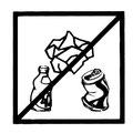 Schmutziges Wasser und weggeworfener Müll vergiften Tiere