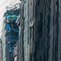 Universitäts-Neubau gespiegelt im mdr