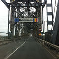 Back to Romania, crossing the Danube river bridge.