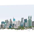 Jakarta – blue 'n green
