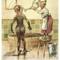 Heinz Geilfus Herz-Postkarte Nr. 9 -- Was nicht erfreulich augenblicklich, macht in der Wirkung erst dich glücklich!