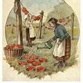 Heinz Geilfus HerzPostkarte Nr. 8 -- Sieh die Herzen an der Leine, eines davon ist auch das meine!
