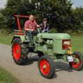 Bauernhofurlaub in NRW: Treckerfahrt durch die Eifel