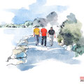 Wanderung in Manzell