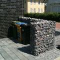 Mülltonnensichtschutzlösungen