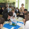 Урок со шведской делегацией школьников