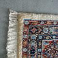 riparzione tappeto persiano trieste, tappeto birjand (mud) persiano dopo restauro