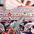 Tabriz carpet, tappeto persiano extra fine rifacimento bordo