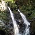 25mの滝 夫婦滝 ここで遡行は終了