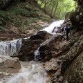 さらにこんな多段の滝