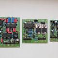 v.l.n.r NF Filter, RX/TX Schaltstufe, NF Verstärker