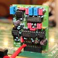 Überprüfung des NF Filters durch Einspeisung eines 600Hz Tons an Pin 1