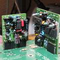 NF Verstärker und RX/TX Schaltstufe montiert auf der Hauptplatine
