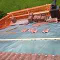 Velux Dachfenster montieren WÄHREND DER ARBEIT