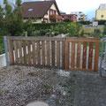 robustes Gartentor