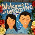 結婚式用ウエルカムボード