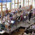 Das Orchester von oben...