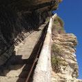 L'escalier du Roi d'Aragon: vertigineux !