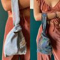 knot bag S jeans-vintage   17,95