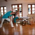 Yoga Dance mit heisamer Musik
