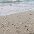 nunenすぐ近くの砂浜