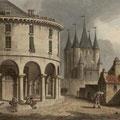 la Rotonde et le Donjon du Temple
