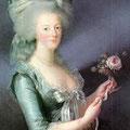 Marie-Antoinette par E Vigée Lebrun