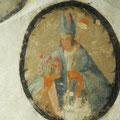 Hl. Virgil: Anlegen einer Musterfläche für die Retusche (tratteggio)