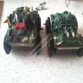 robotun teker kısmı için oyuncak araba