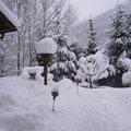 so sieht der Winter vor Ihrer Urlaubswohnungstür aus
