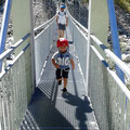 Hängebrücke über den Obersulzbach