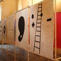 (open) / installatie Gasthuiskapel Borgloon, 2011