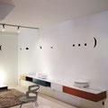 Kiss / installatie Het staat in de sterren geschreven, Meubart, 2013