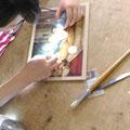 5日コースの午後の作業-DAY5 美的修復の練習板