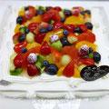 特注ケーキ 特注サイズ(30cm×30cm)のショートケーキ