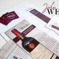 Corporate Design Entwicklung für John Wein – Weinhandel Tobias Schirmer