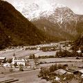 Weißbach im Jahr 1957