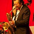 Jahresschlusskonzert 2013: Egon am Baritonsaxophon